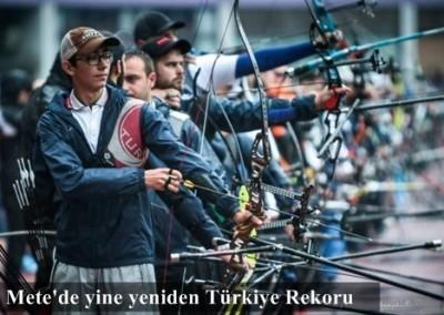 Mete GAZOZ Türkiye Rekoru kırdı