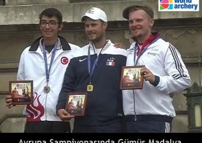 Avrupa Şampiyonasında Gümüş Madalya